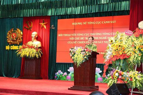 Hoi Phu nu Tong cuc Canh sat mit tinh ky niem Ngay thanh lap Hoi Lien hiep Phu nu Viet Nam - Anh 8