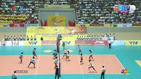 Chi tiet DT Viet Nam – CLB Chonburi: De thua nguoc (Bong chuyen VTV Cup) - Anh 3