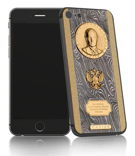 Dien thoai iPhone 7 'phien ban' Tong thong nga Putin gia hon 80 trieu dong - Anh 1