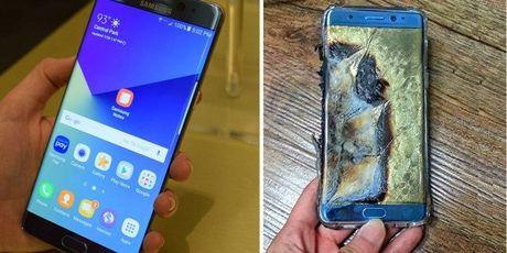 Samsung khuyen cao khach hang ngung su dung Galaxy Note 7 - Anh 1