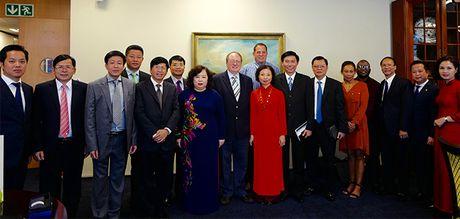Chu tich HDND TP Nguyen Thi Bich Ngoc tham, lam viec tai Nam Phi va Singapore - Anh 1
