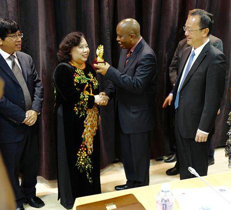 Chu tich HDND TP Nguyen Thi Bich Ngoc tham, lam viec tai Nam Phi va Singapore - Anh 4