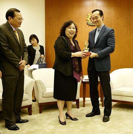 Chu tich HDND TP Nguyen Thi Bich Ngoc tham, lam viec tai Nam Phi va Singapore - Anh 5