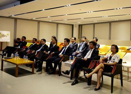 Chu tich HDND TP Nguyen Thi Bich Ngoc tham, lam viec tai Nam Phi va Singapore - Anh 8