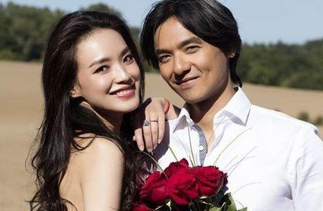 Thu Ky mang thai sau hon mot thang cong bo ket hon? - Anh 1