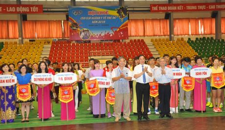 Soi noi Hoi khoe CNVCLD nganh Y te Thu do nam 2016 - Anh 2