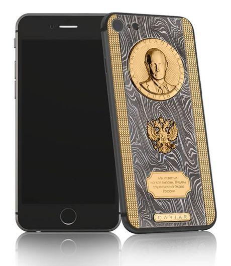 Ngam iPhone 7 sieu 'doc' ma vang, titan cua Putin - Anh 1