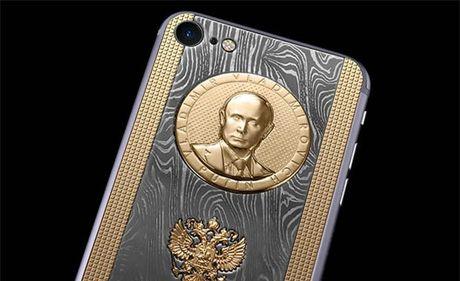 Ngam iPhone 7 sieu 'doc' ma vang, titan cua Putin - Anh 2