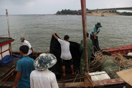 Quang Tri: Tau chim gan dao Con Co, 44 nguoi gap nan - Anh 1