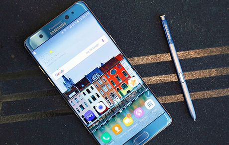Note 7 bi 'tuyen tu', Samsung thu hoi va hoan tien cho khach hang tai Viet Nam - Anh 1