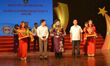 """Long Tho nhan giai thuong Top 10 """"Thuong hieu, san pham, dich vu noi tieng tai Viet Nam"""" 2016 - Anh 1"""