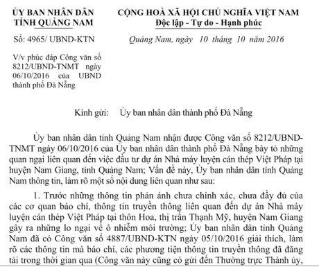 Quang Nam phuc dap Da Nang ve nha may thep - Anh 2