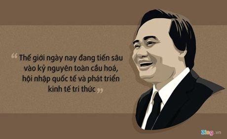 Bo truong Phung Xuan Nha dat chuan chuc danh Giao su - Anh 1