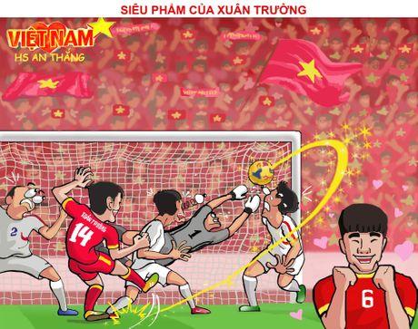 Hi hoa Tuan Anh, Xuan Truong khien doi thu khoc han - Anh 10
