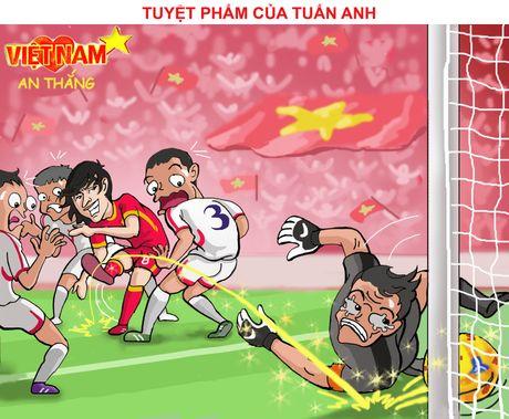 Hi hoa Tuan Anh, Xuan Truong khien doi thu khoc han - Anh 8
