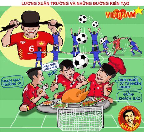 Hi hoa Tuan Anh, Xuan Truong khien doi thu khoc han - Anh 9