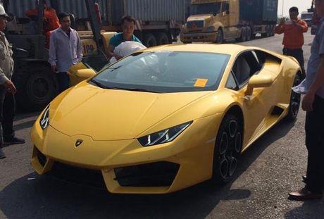 Lamborghini Huracan cau sau thu hai ve Viet Nam - Anh 1