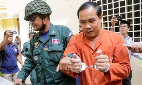 Nghi si doi lap Campuchia bi xu tu vi xuyen tac van de bien gioi voi Viet Nam - Anh 1