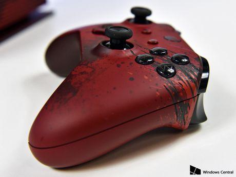 Chiem nguong Xbox One S Gear of War 4 mau do cuc ngau, nang len 2TB o cung - Anh 2