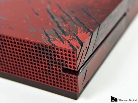 Chiem nguong Xbox One S Gear of War 4 mau do cuc ngau, nang len 2TB o cung - Anh 3