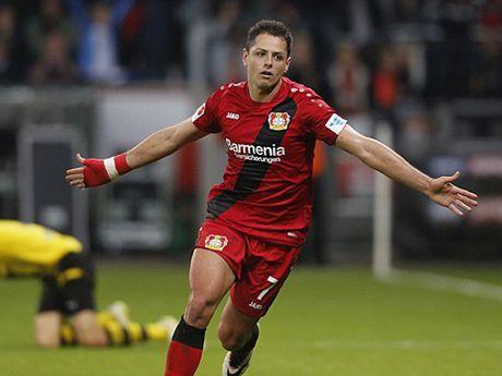Duoc hoi mua voi gia 45 trieu euro, Javier Hernandez gio la 'hang hot' - Anh 1