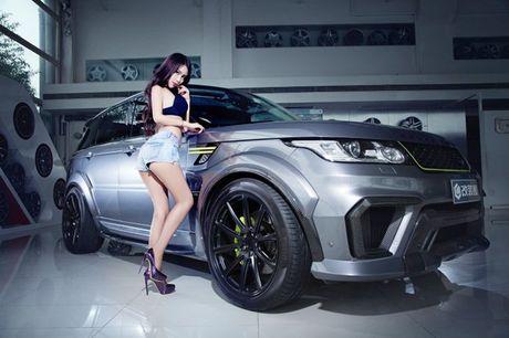 Chan dai khoe vong 1 cang tron ben xe sang - Anh 6