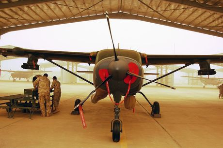Bo tay loai may bay cuong kich My ban cho Iraq - Anh 5