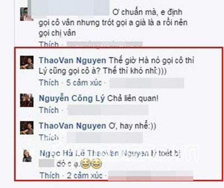 """Thao Van dap tra """"cao tay"""" khi Cong Ly yeu cau ban gai moi goi vo cu la """"co"""" - Anh 2"""