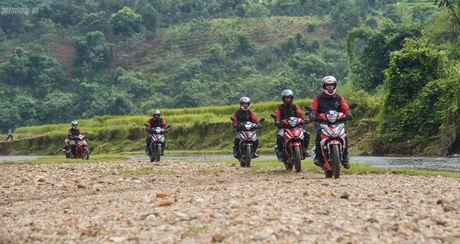 Chinh phuc cuc Tay To quoc cung Honda WINNER 150 (P2) - Anh 13