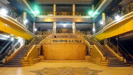 Bat dau dap Thuong xa Tax de xay cao oc - Anh 1