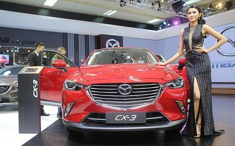 Nhung hinh anh ban dau cua Mazda CX-3 2016 - Anh 1