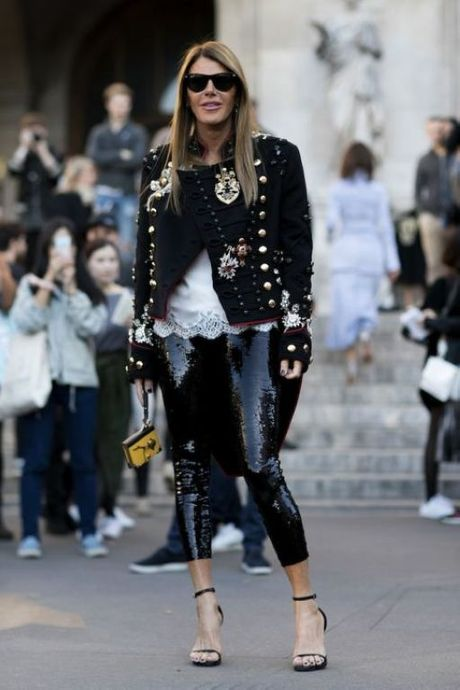 Street Style Paris Fashion Week 2017 - dinh cao cua su don gian - Anh 10