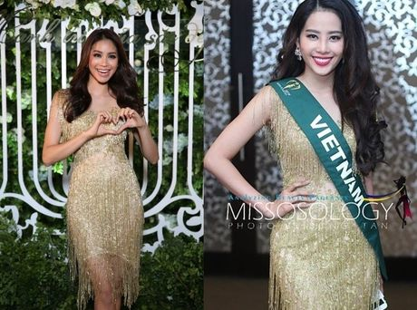 Miss Earth 2016: Thi sinh tao dang ben bang ron nhan nhum, Nam Em 'muon' vay Pham Huong - Anh 7