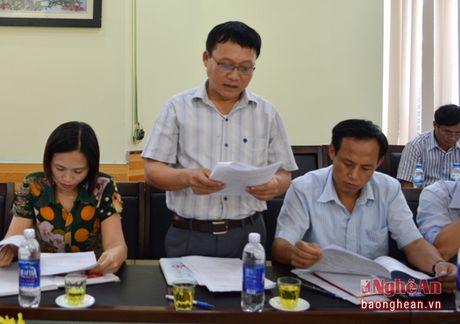 HDND tinh: Dien Chau phai xu li o nhiem moi truong, lam ro sai pham cho thue cang Lach Van - Anh 1