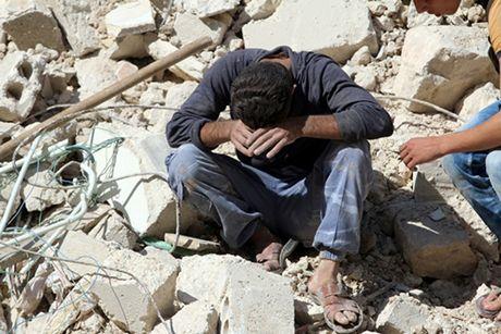 Nga bi to noi lai khong kich phe doi lap o Aleppo - Anh 1