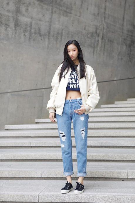 Dien ao croptop khoe ranh bung tru danh nhu doi thu cua Mai Ngo tai Asia's Next Top Model - Anh 10