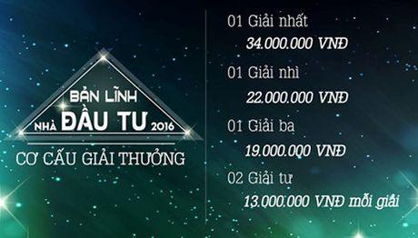 Ban linh nha dau tu 2016 chinh thuc khoi tranh tu 21/10 - Anh 1
