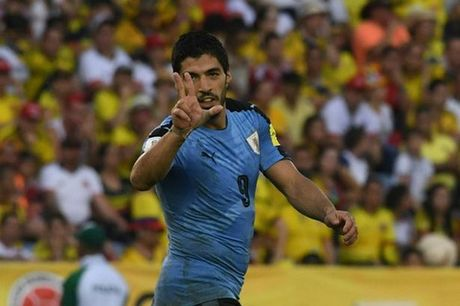 Vuot Messi, Luis Suarez lap ky luc tai vong loai World Cup 2018 - Anh 1