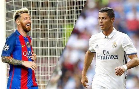 An dinh thoi gian thi dau tran El Clasico luot di La Liga 2016/17 - Anh 1