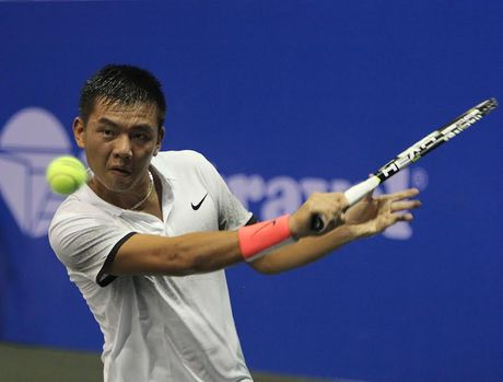 Ly Hoang Nam dung buoc o vong 2 giai Vietnam Open - Anh 1