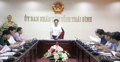 Chu tich tinh Thai Binh chu tri hop ATGT hang thang - Anh 1