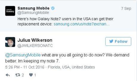 "Fan cuong Samsung kien quyet giu lai Note7: ""Hay den lay no khi nao toi da chet"" - Anh 2"