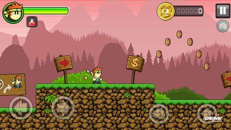 Game di dong hay: Dan The Man, choi giong Super Mario nhung thu vi hon nhieu - Anh 1
