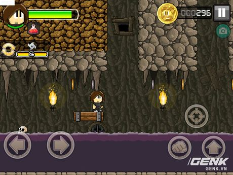 Game di dong hay: Dan The Man, choi giong Super Mario nhung thu vi hon nhieu - Anh 2
