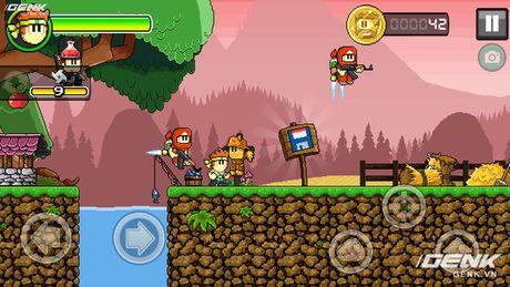 Game di dong hay: Dan The Man, choi giong Super Mario nhung thu vi hon nhieu - Anh 4
