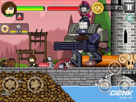 Game di dong hay: Dan The Man, choi giong Super Mario nhung thu vi hon nhieu - Anh 5