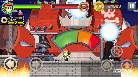 Game di dong hay: Dan The Man, choi giong Super Mario nhung thu vi hon nhieu - Anh 6