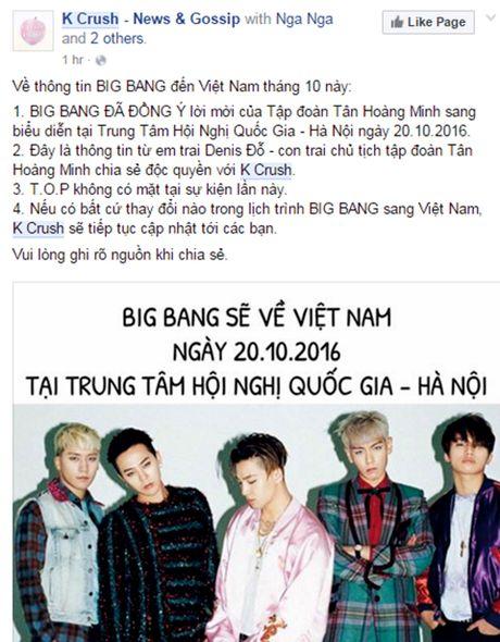 Fan sung sot truoc tin Big Bang den Viet Nam - Anh 1