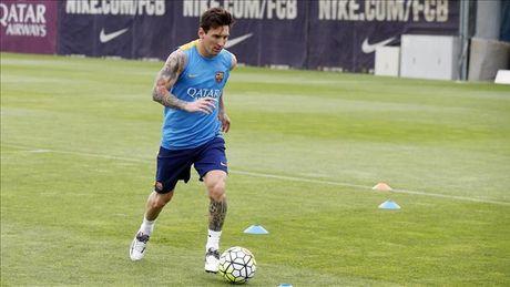 Barca don tin vui tu Messi truoc cuoc doi dau voi Man City - Anh 2
