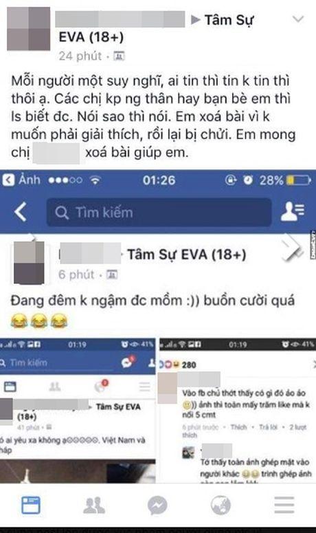 Gai xinh khoe chuyen yeu len mang bi to 'song ao' - Anh 5